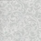 "W108916 - Filigree Scroll in Pale Grey - 108"" Extra Wide Backing Cotton Fabric"